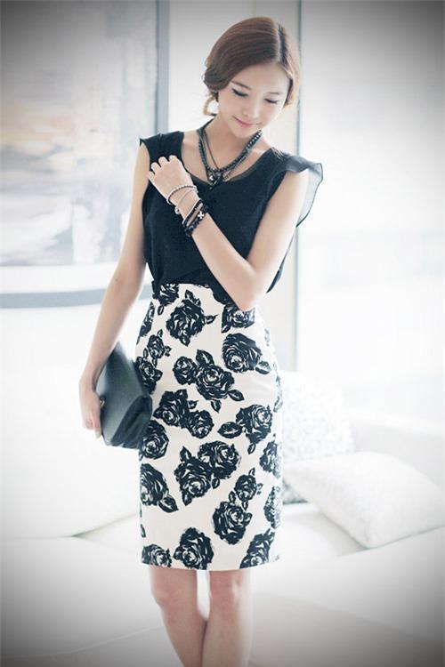 7 ý tưởng mặc đẹp với váy bút chì - 19