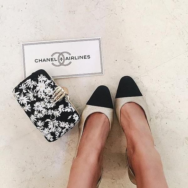 Chanel two-toned