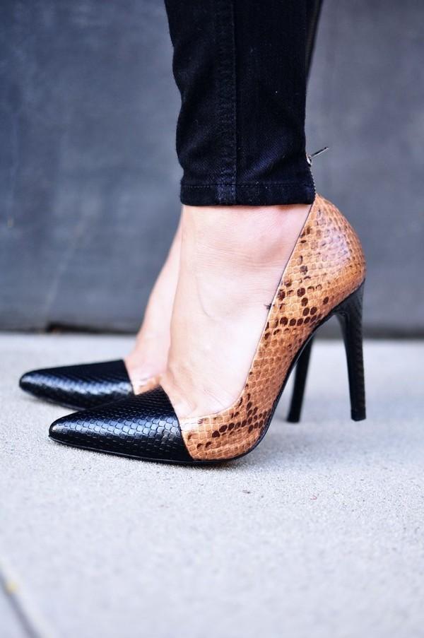 Giày da rắn