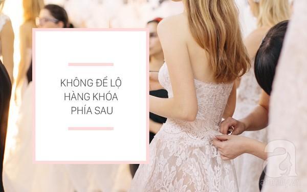 7 bước hô biến váy cưới bình dân trở nên đẳng cấp không thua gì hàng hiệu