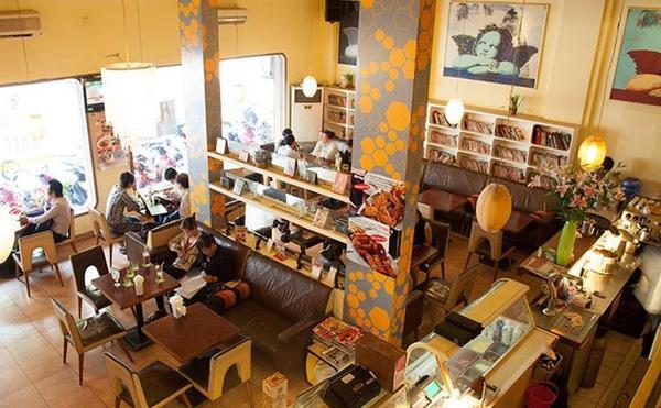 9 quán cà phê cho nàng mọt sách
