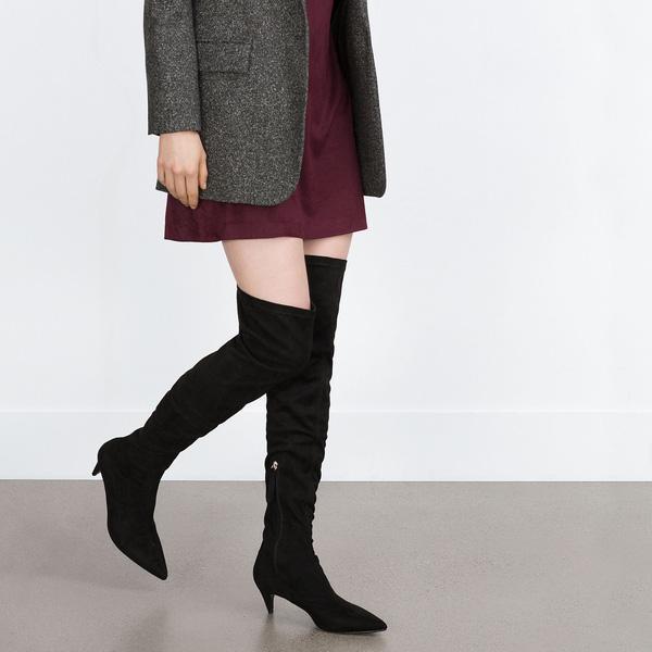 Boots cao quá gối
