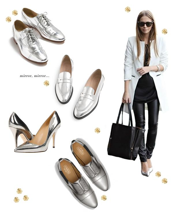 Giày ánh kim