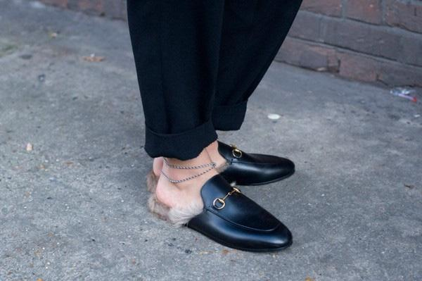 giày loafer sục