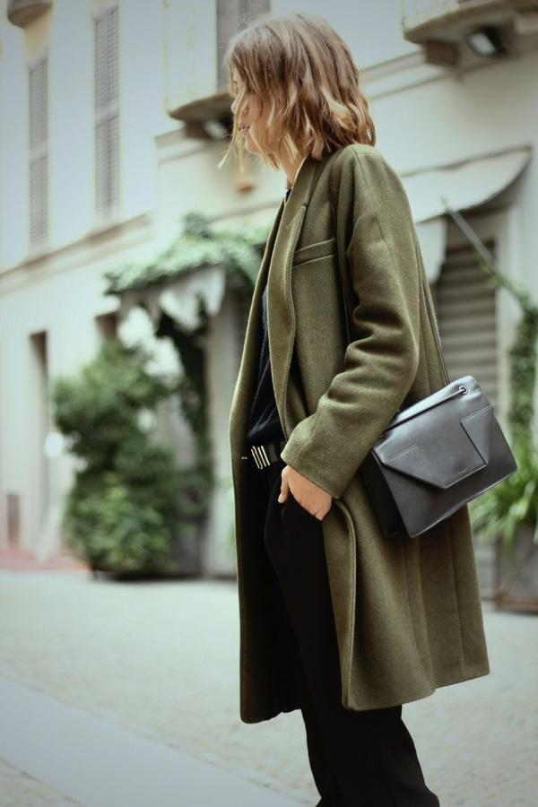 Áo khoác sắc màu