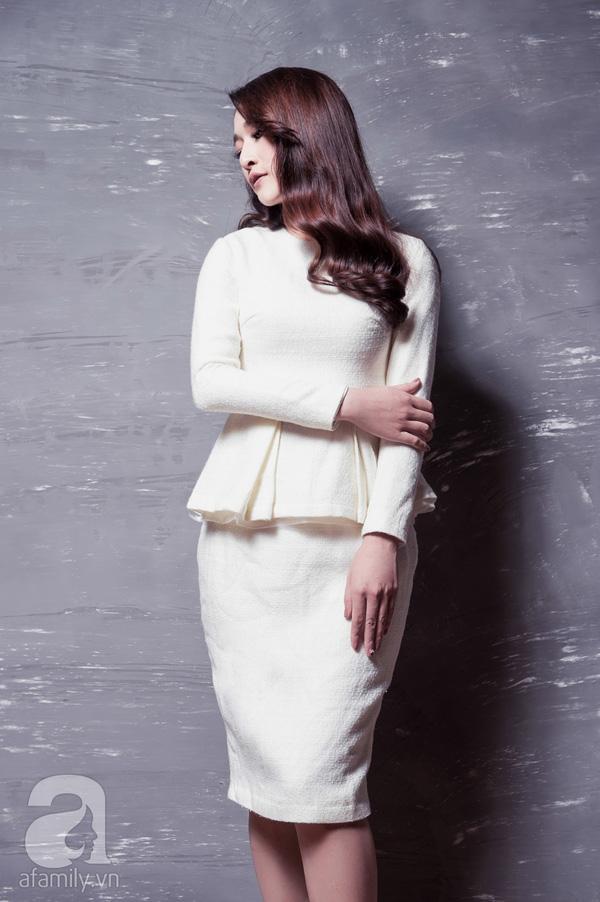 Gợi ý mix đồ đẹp hợp guu thời trang công sở thu đông 2015 - 2016