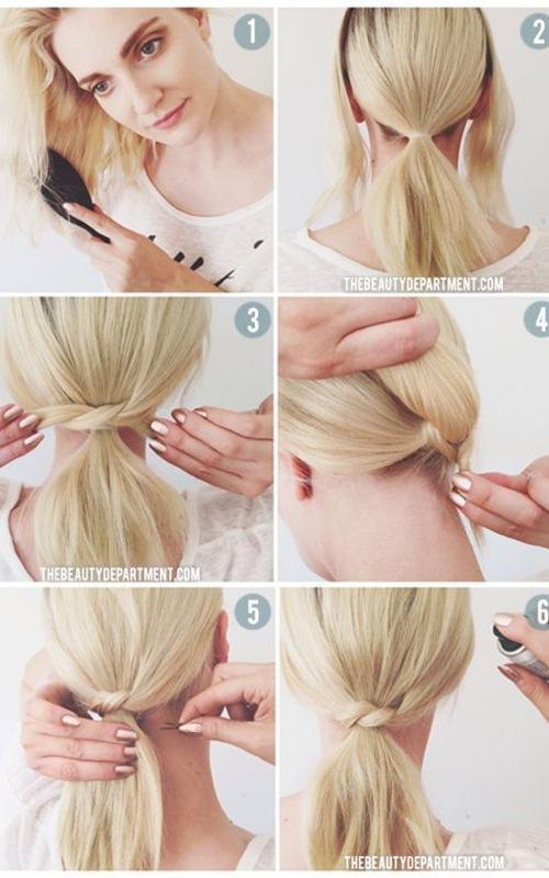 5 kiểu tóc xinh và siêu đơn giản cho nàng tóc ngắn - 8