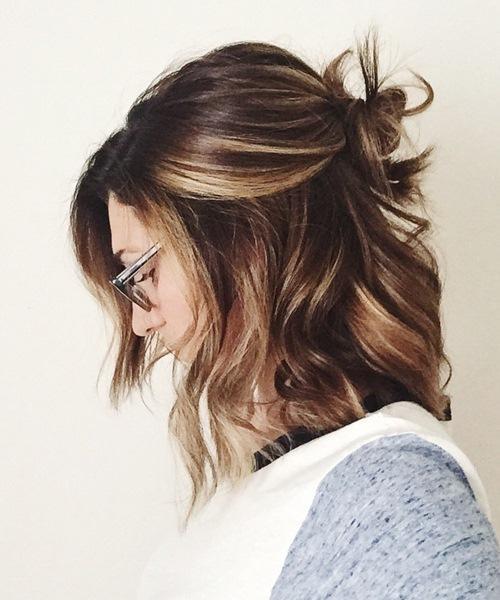5 kiểu tóc xinh và siêu đơn giản cho nàng tóc ngắn - 3