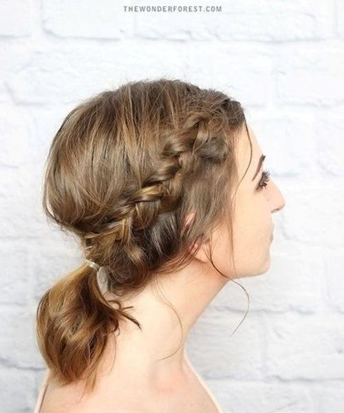 5 kiểu tóc xinh và siêu đơn giản cho nàng tóc ngắn - 9