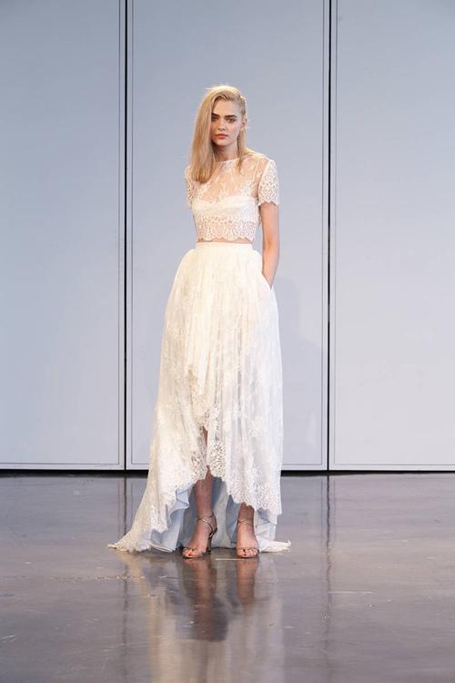 11 mẫu váy cưới thanh lịch khó lỗi mốt - 7
