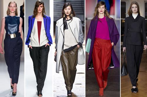 Trong mùa đông này, các nhãn hàng thời trang lớn trên thế giới đang nhắm đến mẫu thiết kế mới dành cho những cô nàng có đôi chân  không đẹp. Để che khuyết điểm này, chiếc quần slouchy, hay còn gọi là quần thụng dáng boom, đang được lòng phái đẹp trên toàn thế giới.