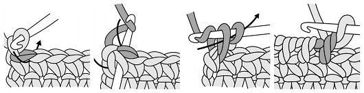 Móc mũ len diện ngày Tết