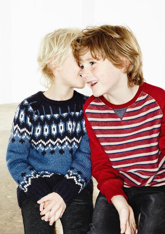 Mê mẩn ngắm lookbook mùa đông dành cho các bé yêu 12
