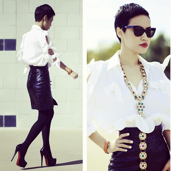 NTK gốc Việt Nini Nguyen - từ lao công trở thành stylist riêng của Rihanna 37
