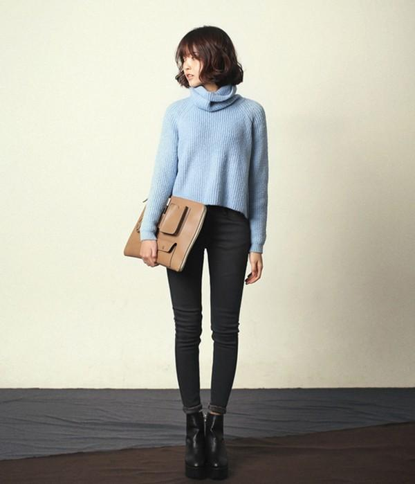 4 màu áo len gam pastel không thể thiếu của mùa đông 13