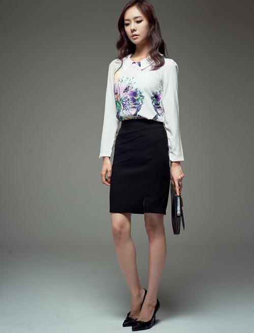Các kiểu áo voan đẹp cho nữ công sở 2013