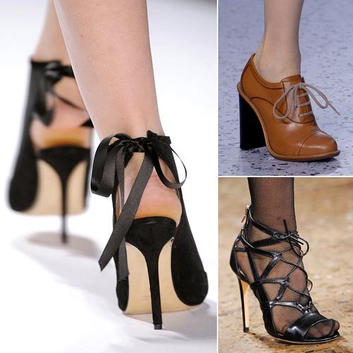 Xu hướng các mẫu giày đẹp mùa thu đông 2013