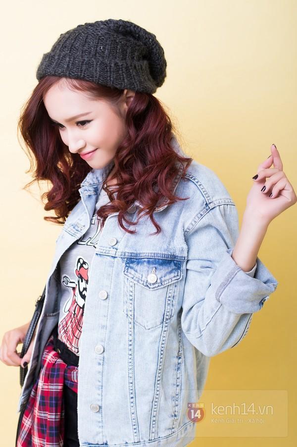 5 cách mix&match cực xinh với denim jacket quen thuộc 14