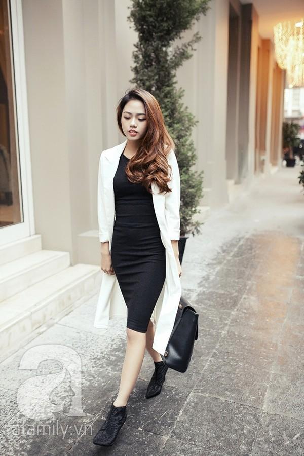 Biến hóa cho cả tuần làm việc với váy đen ngắn (LBD) quyến rũ 12
