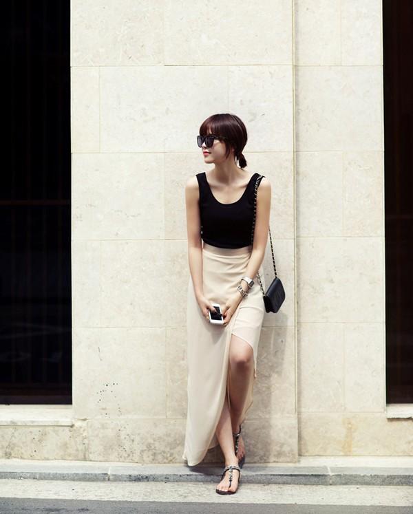 Tips mặc váy ngày nắng nóng cho những cô nàng... chân cong 13