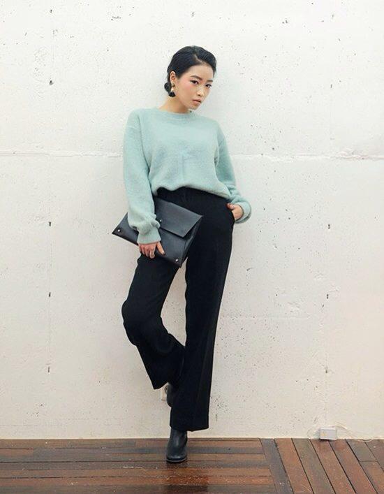 4 màu áo len gam pastel không thể thiếu của mùa đông 7