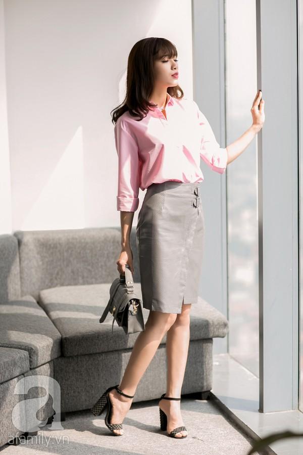 4 cách kết hợp đầy nữ tính và tôn dáng với chân váy bút chì 2