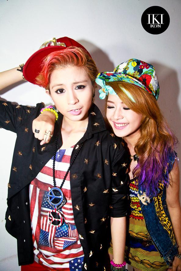 Guu thời trang phá cách của Chi Pu và Gil Lê