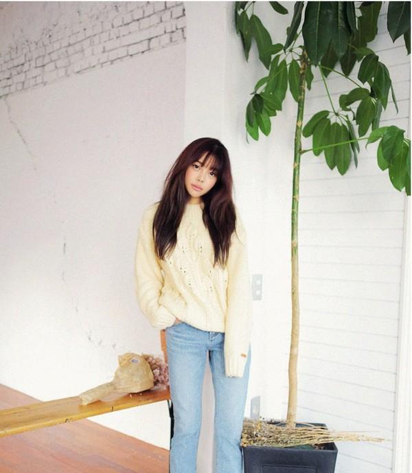 4 màu áo len gam pastel không thể thiếu của mùa đông 16