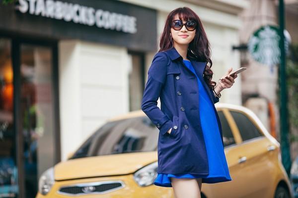 Mặc đồ công sở ấm áp và thời trang cho bà bầu xinh đẹp 12