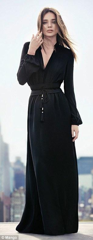 """Miranda Kerr """"quậy"""" trong chiến dịch quảng cáo Mango Thu Đông 2013"""