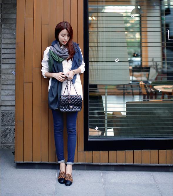 Cách chọn và kết hợp quần jeans với giày hợp từng dáng chân 14