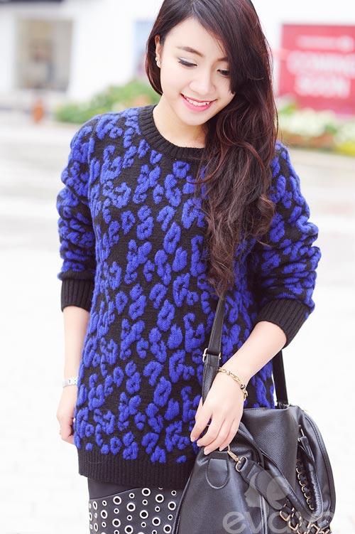 Dễ dàng mặc đẹp mà ấm cùng len oversized - 8