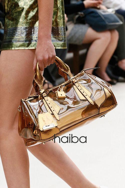 Những chiếc túi trong veo đẹp say lòng