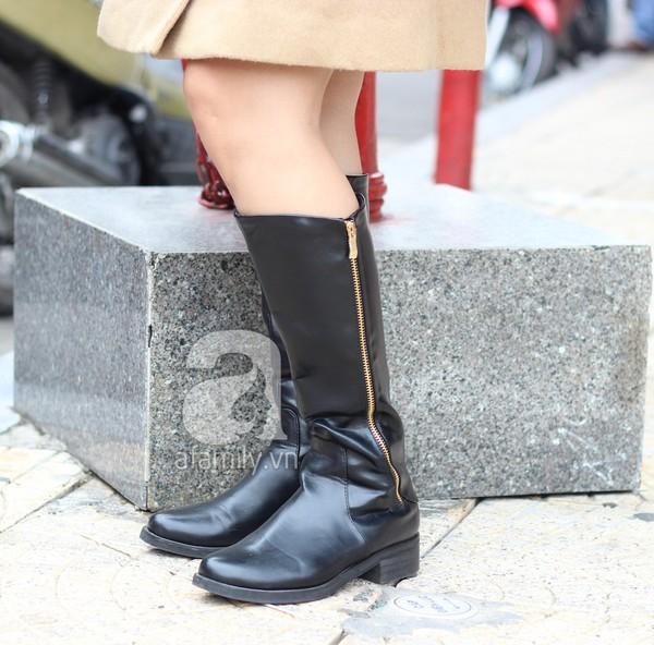 Phái đẹp Hà thành xúng xính áo khoác cho street style ngày lạnh 2