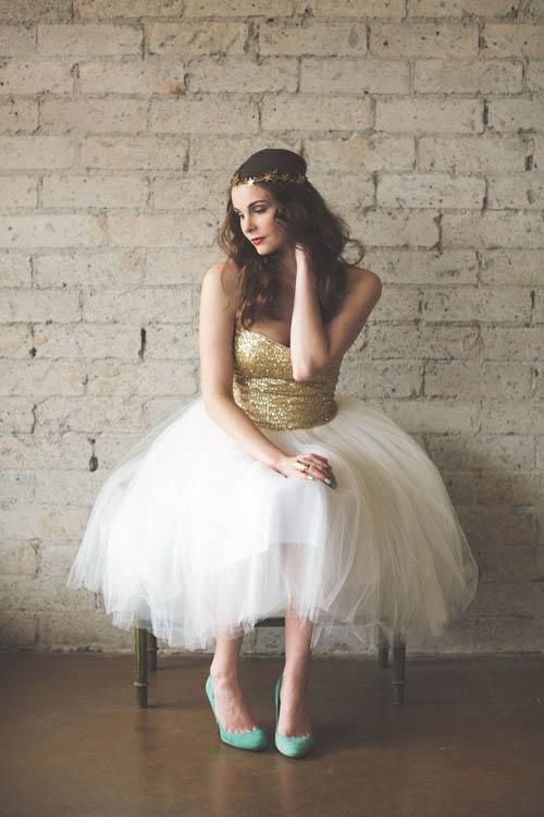 10 váy cưới lý tưởng cho nàng ngực nhỏ, eo to - 9