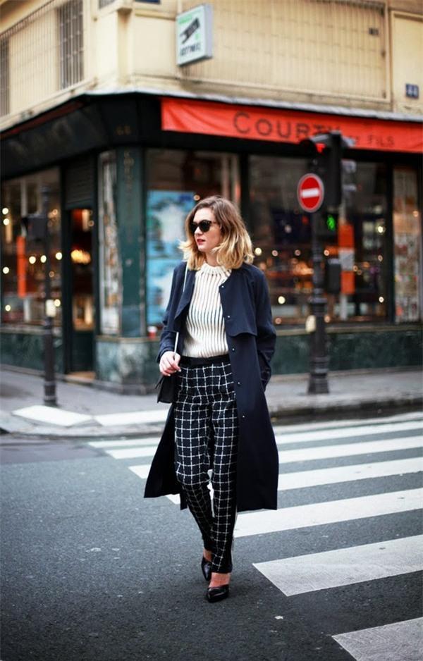 Street style ấm áp và cá tính của châu Âu ngày đầu đông 9