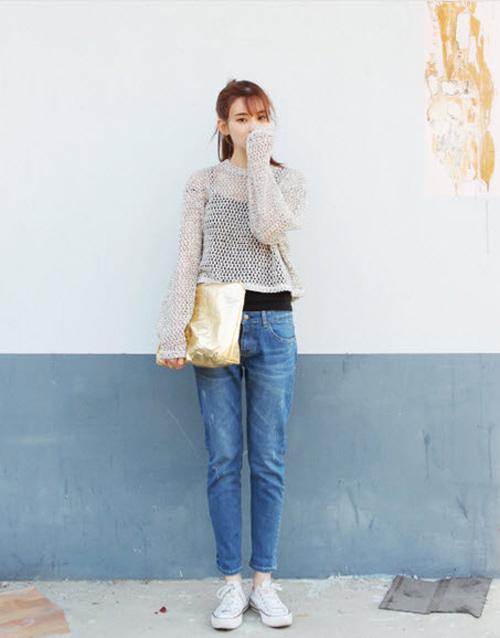 'Chất lừ' với quần jeans dáng thụng - 8