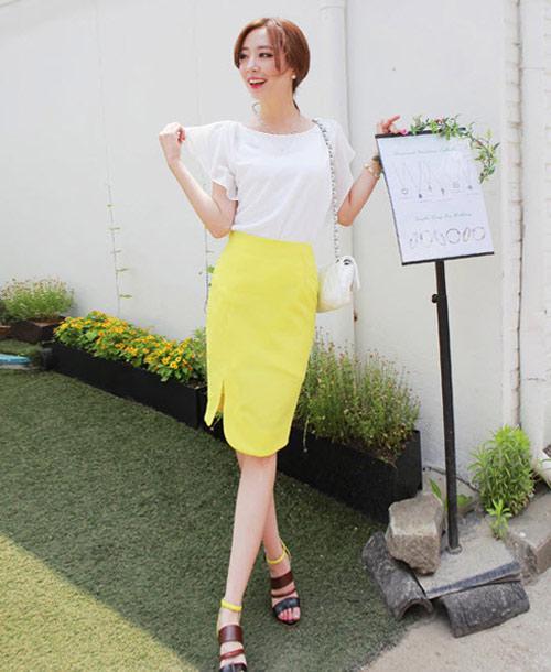 Mách bạn mặc màu vàng chanh đầy sức sống