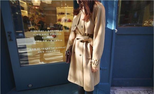 Kết hợp áo khoác vừa ấm, vừa sang cho phái đẹp công sở 11