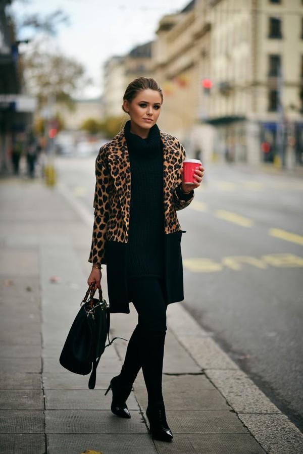 Street style ấm áp và cá tính của châu Âu ngày đầu đông 7