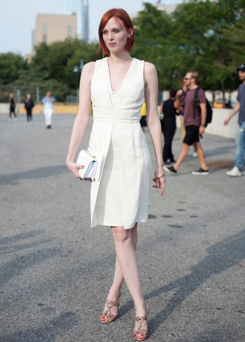7 tuyệt chiêu để đẹp hơn với váy trắng