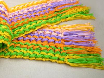 Học móc khăn len đơn giản cho những ngày trở lạnh 8