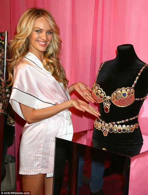 Áo ngực triệu đô tỏa sáng Victoria's Secret Show - 2