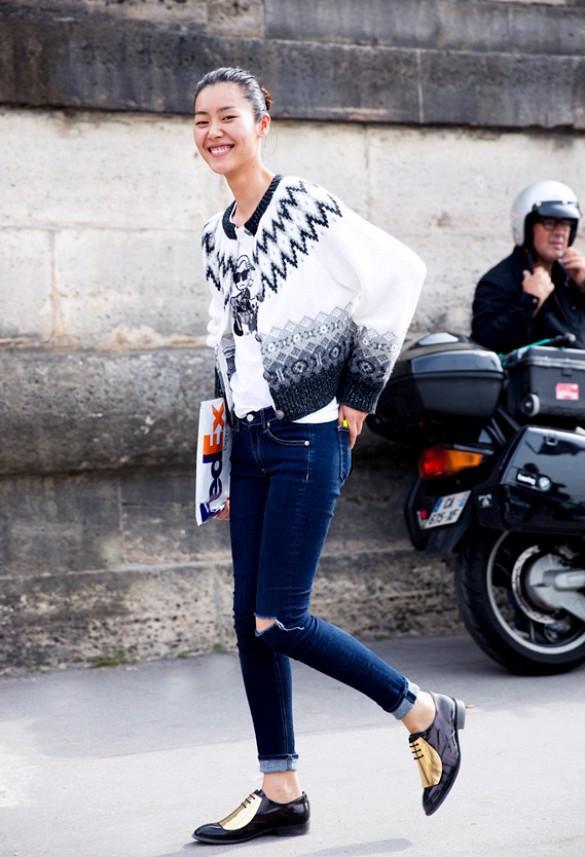 Gợi ý nhiều cách mặc cardigan ngày thu cho phái đẹp 20