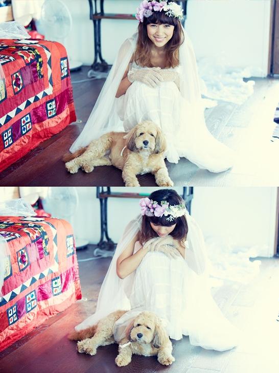 Tiết lộ ảnh cưới đáng yêu của Lee Hyori 6