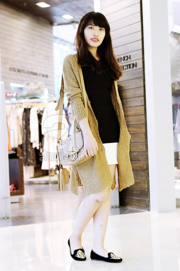 Phái đẹp Hà thành xúng xính áo khoác cho street style ngày lạnh 10