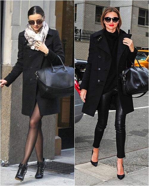 Chọn áo khoác mùa đông chuẩn như Miranda Kerr - 7