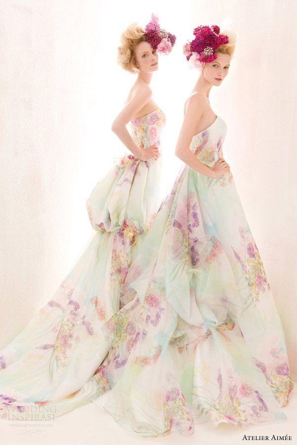 Những mẫu váy cưới tuyệt đẹp không mang tone trắng truyền thống 8