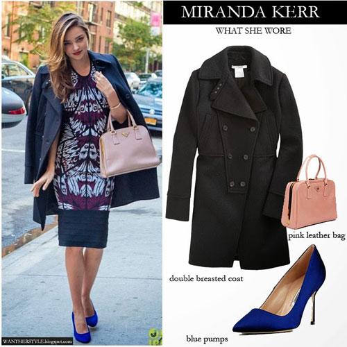 Chọn áo khoác mùa đông chuẩn như Miranda Kerr - 9