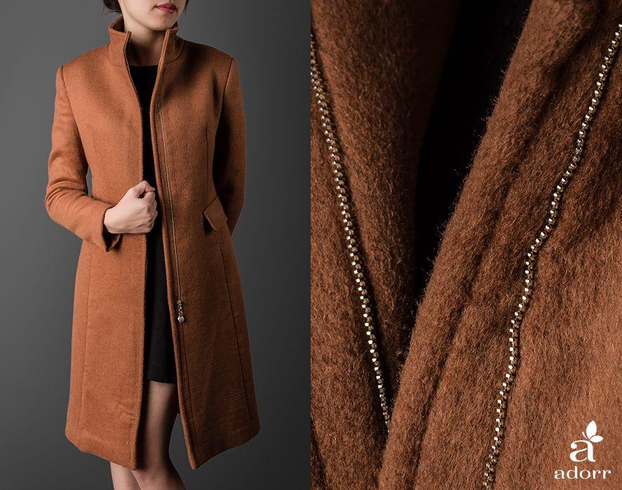 Các mẫu áo khoác dạ đẹp phù hợp mọi vóc dáng đón mùa thời trang thu đông 2013